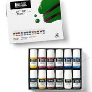Màu Vẽ Vải Liquitex Soft Body Set 12