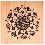 dấu in gỗ , con dấu, dấu in mực, dấu in cao su, đế đóng dấu, Dấu In Mẫu Henna Mandala