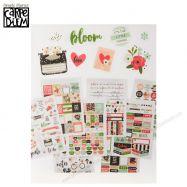 Stickers Trang Trí Mẫu Bloom