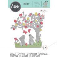 Khuôn Cắt Sizzix Mẫu Bunny Scene #663320