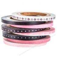 Băng Keo Washi Pink & Black