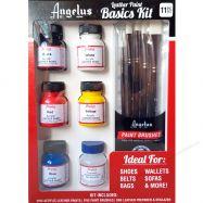 Màu Vẽ Vải Da Angelus Basic Kit
