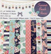 Paper Pack Mẫu Summer Beach House