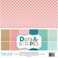 Paper Pack Mẫu Dots & Stripes 12