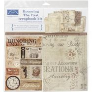 Giấy bìa, giấy mỹ thuật, giấy scrapbook, giấy paper pad, giấy in thiệp, scrapbook Paper Kit, Scrapbook Page Kit Mẫu Karen Foster 12