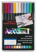 Bút Lông 2 Ngòi Leplume II 12 Màu