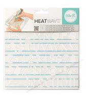 Stencil chữ cái & số dùng cho heatwave
