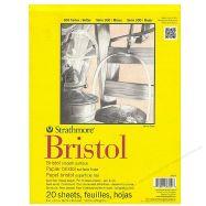 Giấy vẽ Strathmore Bristol smooth size a4