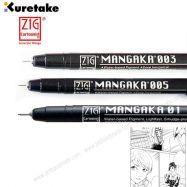 Bút vẽ cartoonist mangaka màu đen