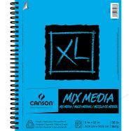 Tập giấy vẽ Canson XL Mix Media 9