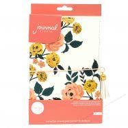 Sổ planner bìa da in hoa