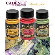 Màu vẽ vải metallic hiệu Cadence