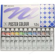 Nicker Poster set 12 màu 20ml