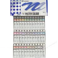 Nicker Poster set 36 màu 20ml