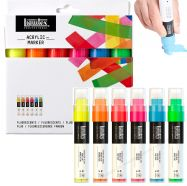 Bộ bút acrylic Liquitex set 6 màu dạ - ngòi wide