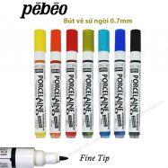 Bút vẽ sứ Pebeo porcelaine - nét 0,7mm