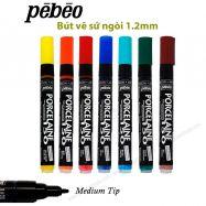 Bút vẽ sứ Pebeo porcelaine - nét 1,2mm