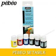 Màu vẽ lụa Pebeo setasilk set 6x20ml