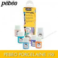 Màu vẽ sứ Pebeo Set 6x20ml màu pastel