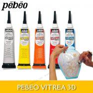 Tuýp vẽ nổi thủy tinh Pebeo Vitrea 20ml
