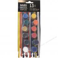 Bộ 12 màu acrylic Liquitex basic hủ pot 4mlx12