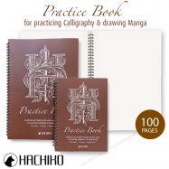 Sổ luyện chữ và vẽ manga Hachiko size A5