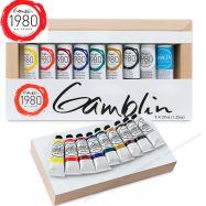Màu sơn dầu Gamblin oil 1980 bộ introductory
