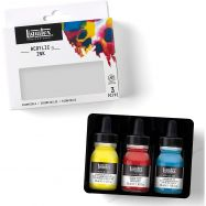 Mực ink Liquitex bộ basic colors 3x37ml
