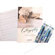 Sổ luyện viết thư pháp morden kèm 2 bút
