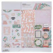 Bộ scrapbook mẫu Wedding 12x12