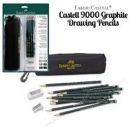 Bộ chì Farber Castell 9000 artist graphite - 15 món