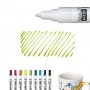 Bút vẽ sứ xanh lá nét mảnh