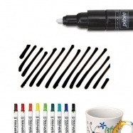 Bút vẽ sứ đen nét dầy