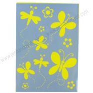 Stencil mẫu butterfly