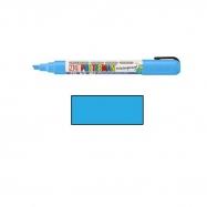 bút vẽ bảng, bút viết lên kính, bút vẽ kính không phai, bút trang trí kính, bút bảng đen, bút đa năng, Bút vẽ bảng, kính nhiều bề mặt - light blue (6mm)