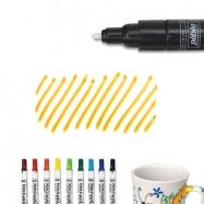 Bút vẽ sứ cam nét dầy