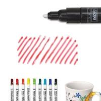 Bút vẽ sứ đỏ nét dầy