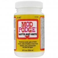 Keo Mod Podge Matte dán lên gỗ và nhiều bề mặt 236ml